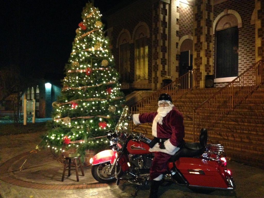 biker claus 2015 vancouver washington - Biker Christmas